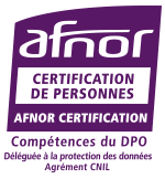 Certification AFNOR deleguee protection donnees